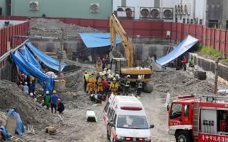 中市工人遭活埋 警消徒手挖掘成功救援