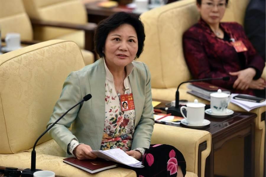 前世界銀行副行長林毅夫之妻陳雲英,也是臺籍全國人大代表。(圖/中新社)