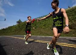 New Balance接力飆速 最速團跑進紐約