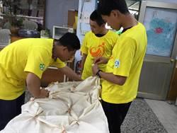 南商資訊志工隊協助白河大竹社區推出文創環保商品