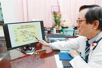 小兒超音波先驅 李宏昌打桌球 手眼超靈敏