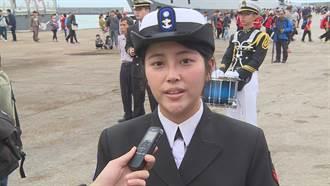 海軍敦睦艦赴花蓮港 正妹輪機士圓母航海夢