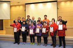 維護學子上下學安全 23導護志工獲表揚