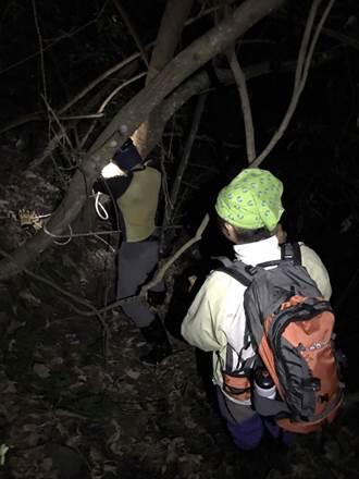 登山客失聯  漏夜搜尋凌晨護送下山