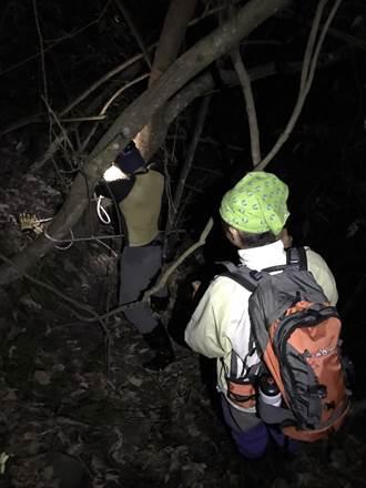 脫隊受困峭壁 登山客已順利救出