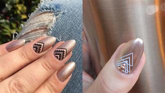 春天指甲也該換新裝了!春季的幾何圖形指彩圖鑑