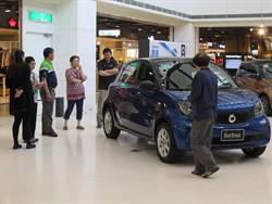 慶卡友滿25萬 新光三越台南新天地消費滿千抽汽車