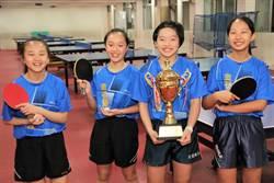 宜蘭國小 全國自由盃12歲女組團體冠軍