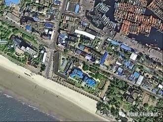 大陸最強衛星超高清照片 可數人頭