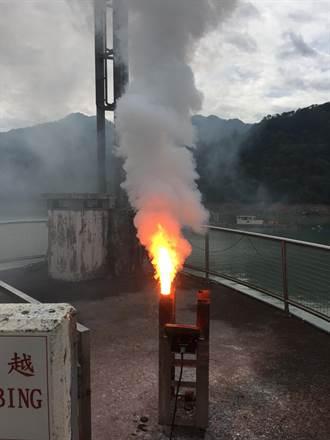 明降雨機率高 石門水庫人工增雨備戰