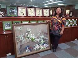 南台灣彩墨藝術家蔡梅芳 19日辦茶會與民眾交流