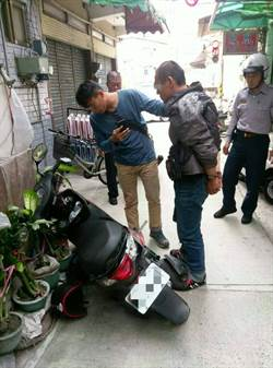 騎贓車舊地重遊 遭警追捕急丟海洛因