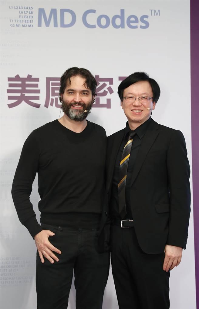 國際知名整形外科醫師 Dr. Mauricio de Maio與台灣皮膚科權威彭賢禮醫師(本報資料照片)