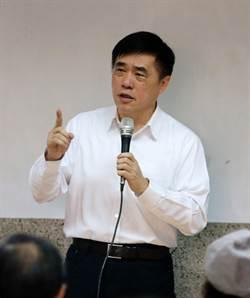 郝龍斌:不可把黨主席當成跳板