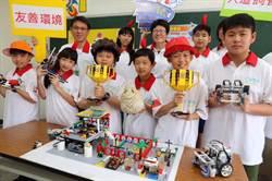 林園國小打造雞舍界「帝寶」進軍FLL機器人世界賽