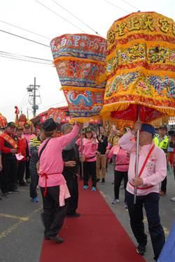 南瑤宮、白鶴宮「接貳香與換娘傘」傳遞民俗之美