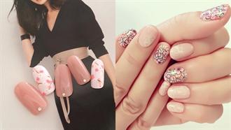 賞櫻的季節到了!15款櫻花指彩週末立刻換上新甲色