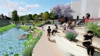 再現豐原美麗風華 水利局打造葫蘆墩圳親水空間