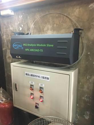 寺廟監測PM2.5 桃市環保局補助