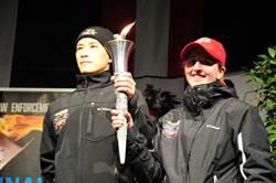 冬季特殊奧運登場  台灣警參與傳遞火炬