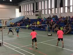 新竹市長盃羽球賽 逾千人參加