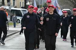 傳遞特殊奧運火炬 台灣警代表繞行奧地利