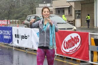 雨中跑才嗨 女神瑞瑪席丹7K跑不夠