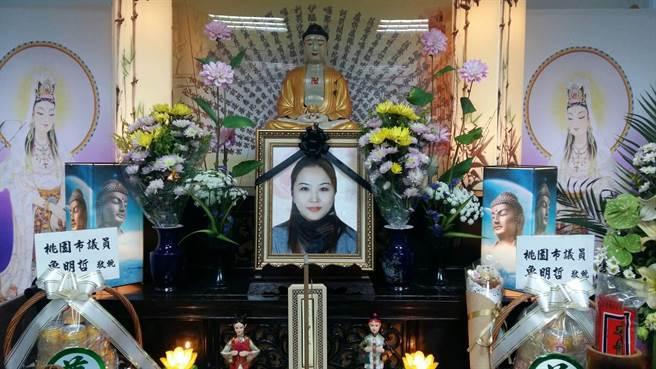 陳姓美容師病逝,預計21日出殯。(家屬提供)