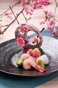 詠嘆絕美和魂 日料餐廳桌上大獻「櫻情」