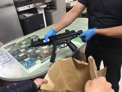 埔里鬧區街頭槍擊 3嫌就逮起出長短槍