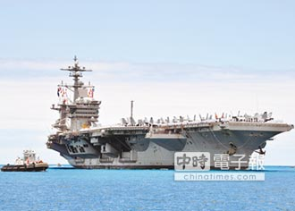美韓施壓北韓 航母、60艦軍演
