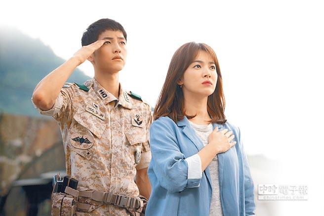 團結由影星宋仲基、宋慧喬主演的南韓連續劇《太陽的後裔》(左圖,取材自豆瓣),在亞洲締造收視佳績。