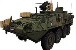 美國陸軍展示雷射炮史崔克裝甲車