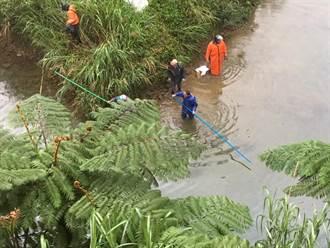 水公司水源地漏油 環保局最高開罰300萬