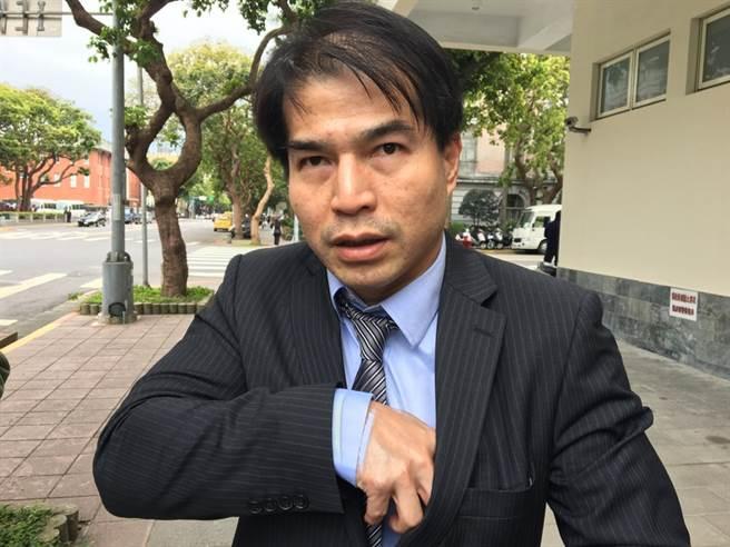 繼林鈺雄後,律師陳重言(圖)聲明退出司改國是會議。(中央社)