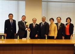 王金平訪日 拜會日本副總理麻生太郎、外務副大臣岸信夫