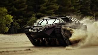 美國陸軍測試時速160公里的超級快坦克
