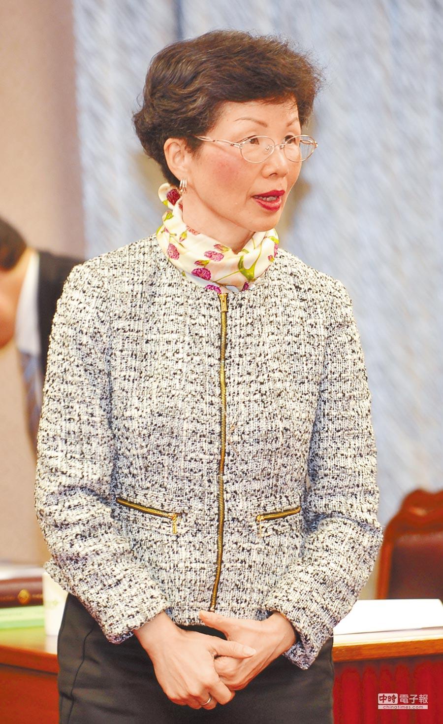 面對立委詢問台灣是否會被中美當作利益交換的籌碼?陸委會主委張小月(見圖)20日要求美方信守《台灣關係法》以及對台「六項承諾」等。(本報系資料照片)