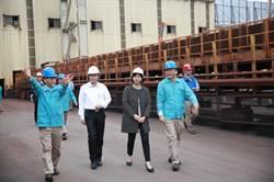 改善空汙 中龍鋼鐵首座煤料室內堆置棚明年完工