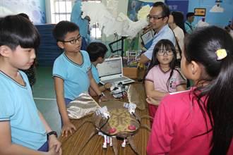 海東國小學童設計機器人獲獎 外校150位老師取經