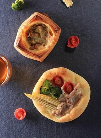 邦尼爾手作烘焙 用安心豬做鹹麵包
