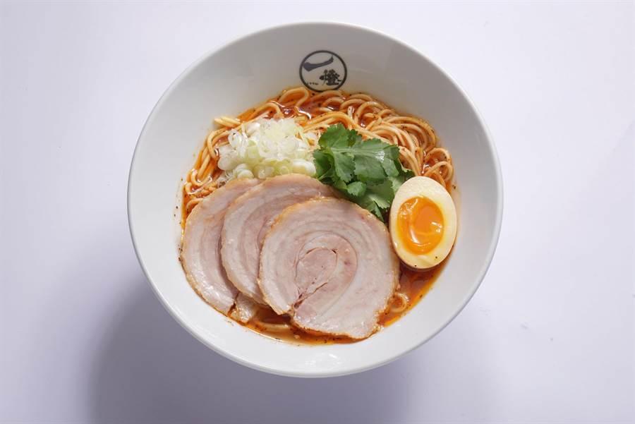 台灣限定款「辛十二香拉麵 」 $260(業者提供)