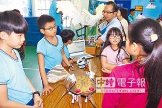 海東國小機器人獲獎 外校也朝聖
