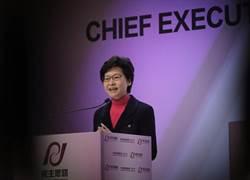 香港首任女特首得到777票 象徵需在左中右取得平衡
