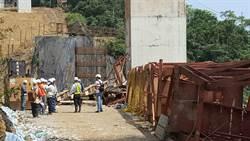 基隆拓寬工程鐵架塌 工人來不及逃一死兩傷