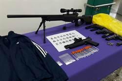 缺錢買毒  男持模型槍搶超商被逮