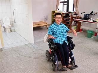 屏東大學打造無礙障宿舍 重度腦麻生更方便
