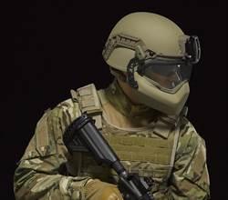 美軍將用強化塑膠頭盔