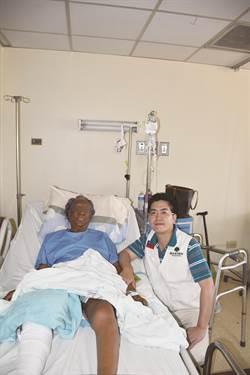 退化性關節炎「腳變形」16年 國泰醫院1週讓她站起來