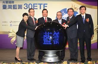 兆豐臺灣藍籌30ETF獲准成立 3/31掛牌上市
